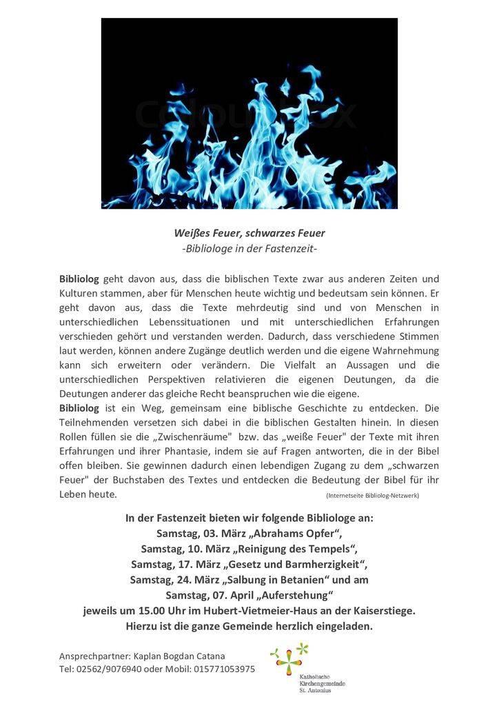 thumbnail of Weisses_Feuer_schwarzes_Feuer_Bibliologe_in_der_Fastenzeit_2018